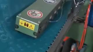 Continous feeding skiving machine for abrasive belt joint processing youtube video