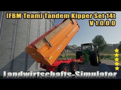 [FBM Team] Tandem Tipper Set 14t v1.0.0.0