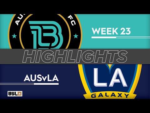 Austin Bold - LA Galaxy 2 1:3. Видеообзор матча 11.08.2019. Видео голов и опасных моментов игры