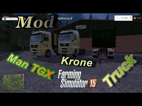 MAN TGX KRONE v1.0