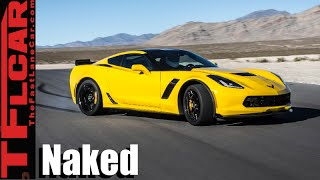Naked Corvette Exposed: How & Why GM Uses Light Weight Materials in the Chevy Stingray by The Fast Lane Car