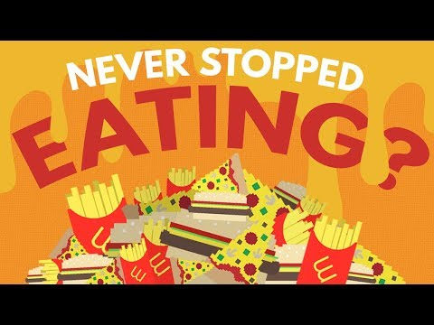 What Would Happen If You Never Stopped Eating?