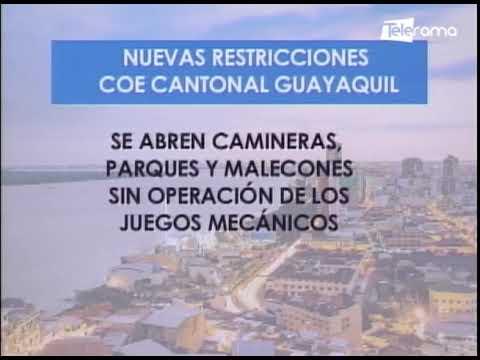 Nuevas restricciones en Guayaquil por crisis de covid-19
