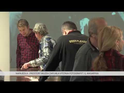TVS: Napajedla - Výstava fotografií T. G. Masaryka