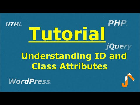 Understanding ID And Class Attribute Of HTML Tags