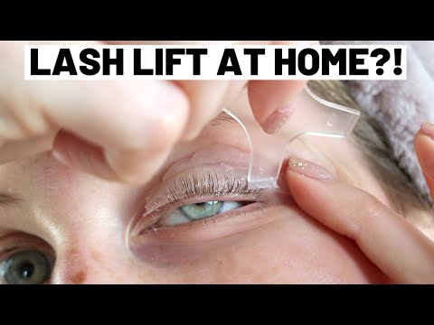 DIABLO LASH LIFT FIRST IMPRESSION REVIEW & DEMO FROM A LASH LIFT THERAPIST
