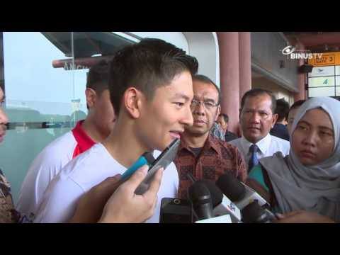 [Coverage] Rio Haryanto Departs to Barcelona