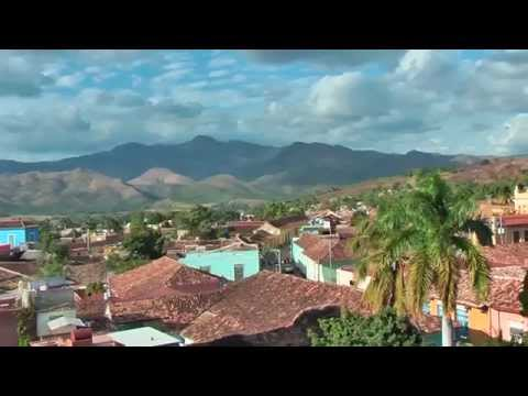 From the tower of the Palacio Cantero Museum in Trinidad (Cuba) you have a wonderful view