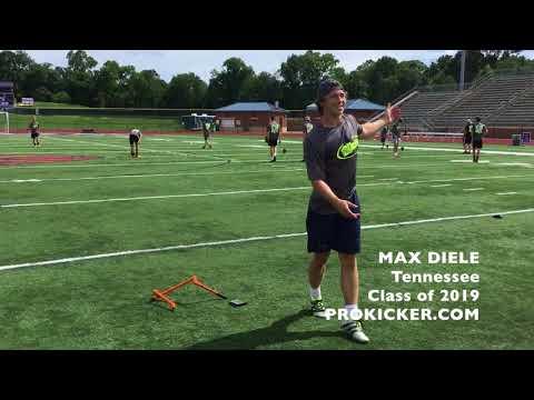 Max Diele, Prokicker.com Kicker Punter, Class of 2019