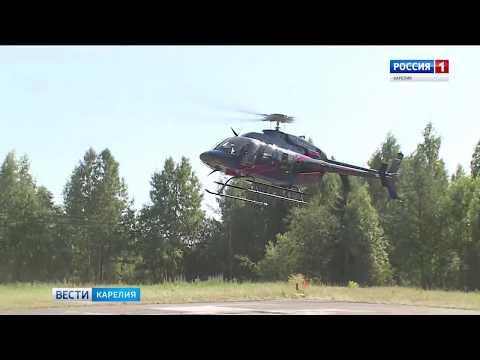 ВКарелии всвой первый рейс отправился вертолет санавиации