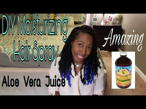 Quick DIY Hair Moisturizer | Aloe Vera Juice Spritz