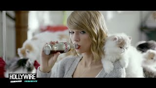 Taylor Swift Previews New Song In Diet Coke Commercial!