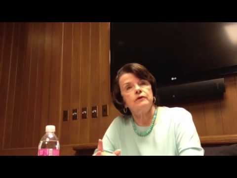 0 CA Sen: Senator Dianne Feinstein Doesnt See The Point in Debating Republican Elizabeth Emken
