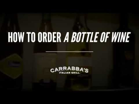 How to Order a Bottle of Wine