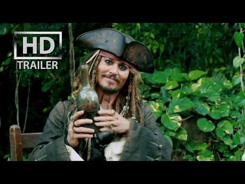 Image of Pirates of the Caribbean 4 : On Stranger Tides | [HD] OFFICIAL trailer #1 US (2011) 3D Johnny Depp - YouTube
