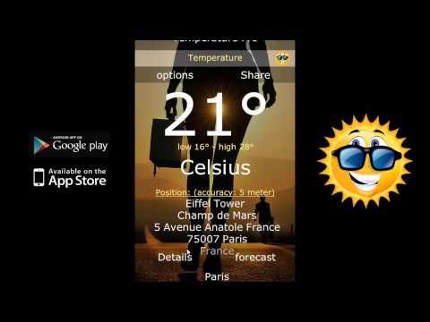 Video of Temperature