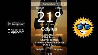 Temperature YouTube video
