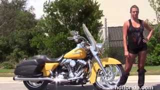 1. Used 2006 Harley Davidson Road King Custom Motorcycles for sale
