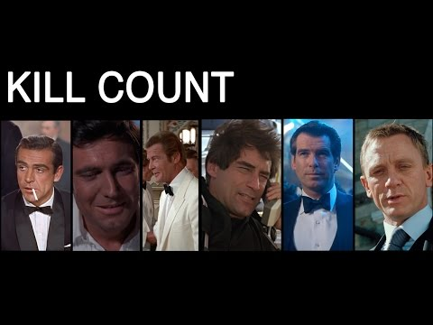 Massive Supercut Shows James Bond Kill Count from Fleming to Craig
