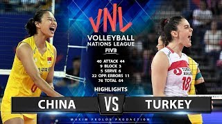 Video China vs Turkey    Highlights   Women's VNL 2019 MP3, 3GP, MP4, WEBM, AVI, FLV Juni 2019