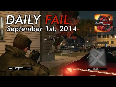 fail - Matt and Ray bring you the daily fail for September 1st. For more Game Fails visit http://www.youtube.com/gamefails Got something funnier? Submit your clips now at http://ahuploads.com Fails...