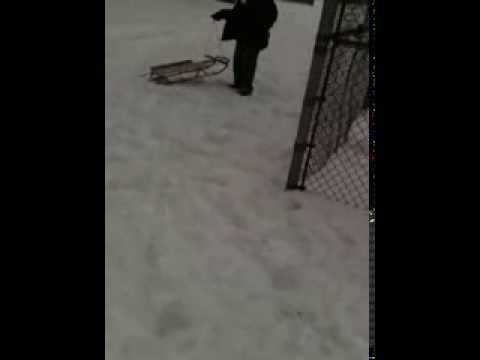 I can ride a snow board!!!