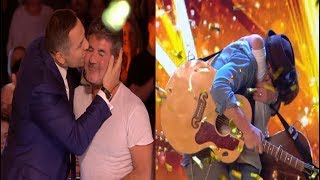 Video GOLDEN BUZZER From Simon | Dream Dad & Son Duo Dazzle The Judges MP3, 3GP, MP4, WEBM, AVI, FLV Agustus 2018