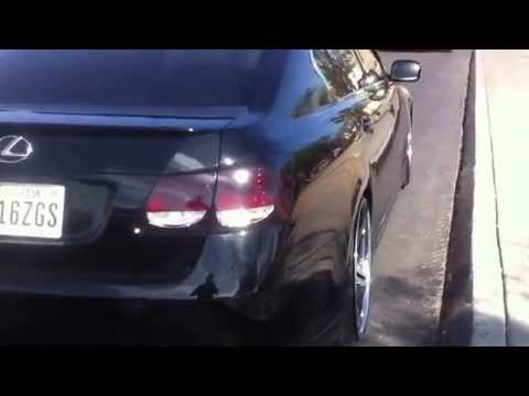 2007 Lexus GS Staggered Rims Smoked Lights S190