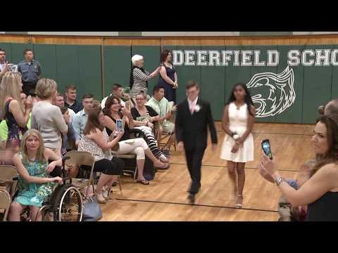 Mountainside, NJ Deerfield Graduation 2017 (видео)