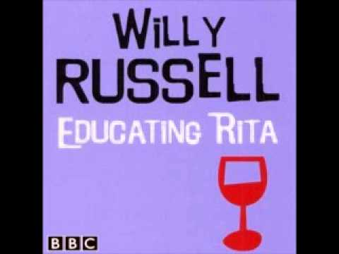 a review of educating rita by willy russel and its themes A derby theatre & octagon theatre bolton production educating rita by willy russell directed  educating rita, is now open ahead of its transfer to  review.