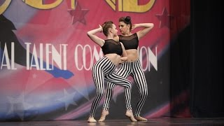 Contemporary Duet - dancers are in 8th & 9th grades - 3rd Place Overall ages 15-19 - Starbound 2015.