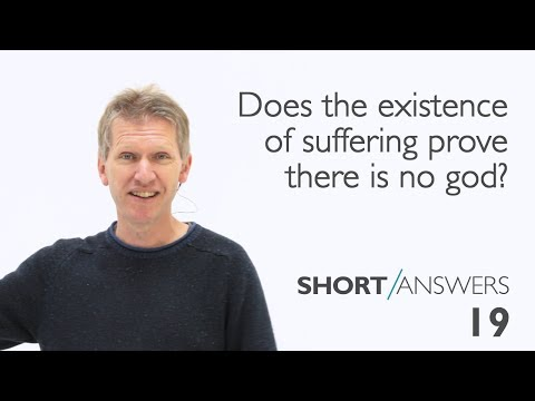 Does the existence of suffering prove there is no God?  |  Andy Bannister