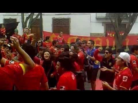 Previa: Primera Parte - Al D. Cuenca le salvo la gente - Cronica Roja - Deportivo Cuenca