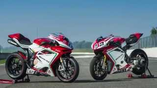 8. MV Agusta F4 RC vs. F3 800 RC| onboard | Motorcyclenews.com