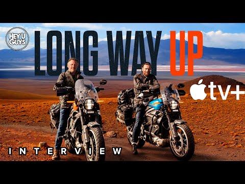 Ewan McGregor & Charley Boorman Interview - Long Way Up (Apple TV+)