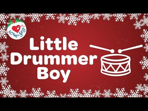 Little Drummer Boy with Lyrics Christmas Carol and Christmas Song