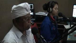 Lomba Dharma Wacana Di Radio Komunitas Pendidikan Dwijendra 107,7 FM