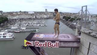 La Rochelle France  City pictures : Red Bull Cliff diving La Rochelle Day 1