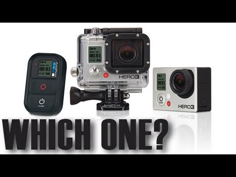 GoPro Hero3 Black Edition vs GoPro Hero3 Silver Edition vs GoPro Hero3 White Edition vs GoPro Hero2 – Spec Comparison