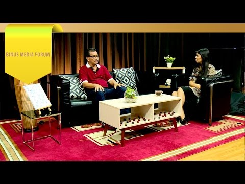 BINUS MEDIA FORUM – Hendrik Rotinsulu – Mengenal Immanuel Peaceful Station Radio