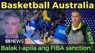 Video Basketball Australia: Balak Maghain ng Appeal sa FIBA Sanctions sa Gilas Brawl MP3, 3GP, MP4, WEBM, AVI, FLV Juli 2018