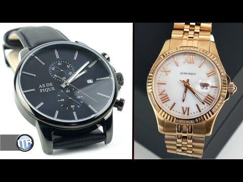 Hochwertige Uhren zu einem fairen Preis? - AS DE PIQUE im Test