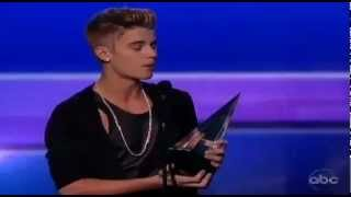 Justin Bieber Wins AMA 2012 American Music Awards Pop Rock Male Artist of the Year 2012