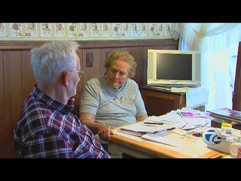 Elderly couple losing home to foreclosure