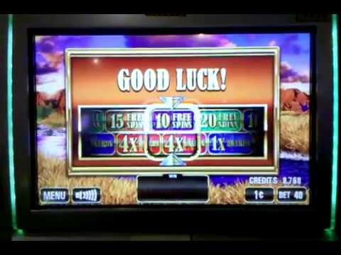The Herd slot machine bonus round, Venetian Las Vegas, July 2013