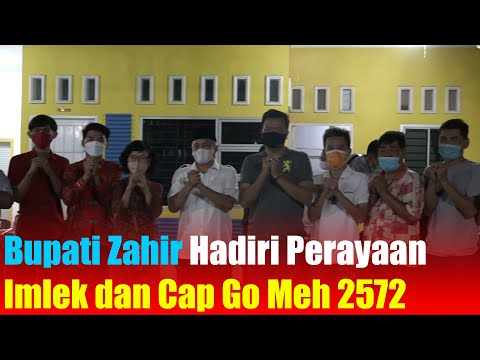 Bupati Zahir Hadiri Perayaan Imlek dan Cap Go Meh 2572