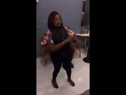 Funke Akindele Bello Shows Us Some Dance  Moves