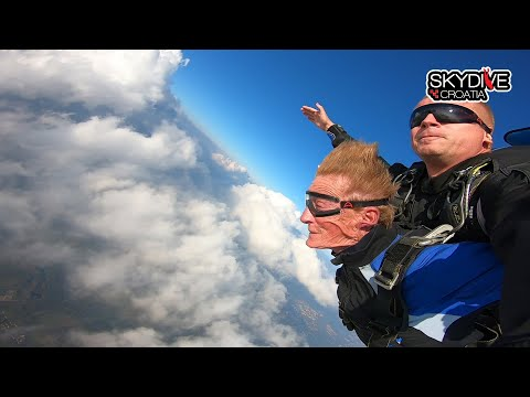 Skok za 70-ti rodendan - Skydive Croatia