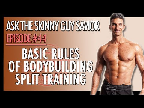 What's The Best Bodybuilding Split? Basic Rules of Bodybuilding Split Training