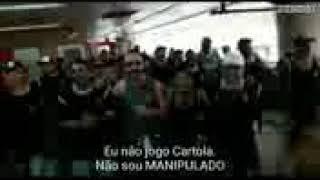 Torcida do Corinthians manda recado pros cartoleiros
